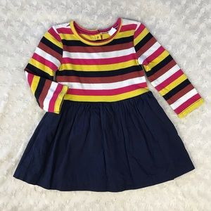 Baby Gap Dress Stripes Blue Size 18-24 Months